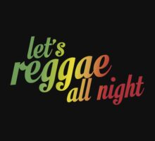 Let's reggae all night css by buud