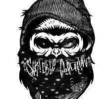 """Urban Gorilla"" by ScribblePuff"