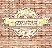 Gene's Parmesan Logo - Arrested Development by PPWGD