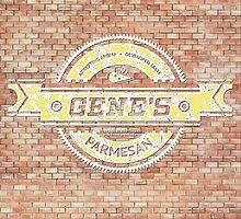 Gene's Parmesan Logo - Arrested Development by PPWGD