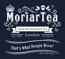 MoriarTea 2014 Edition (white) Kids Tee