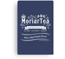 MoriarTea 2014 Edition (white) Canvas Print