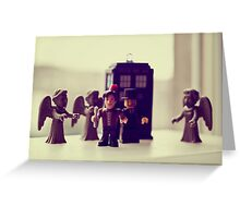 don't blink wink or flutter those eyes Greeting Card