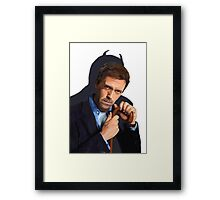 Hugh Laurie as Imp Framed Print