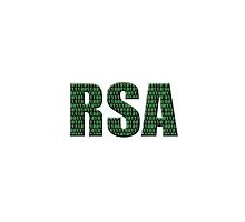 Digital illustration - RSA  public-key cryptosystems cryptology. by stuwdamdorp