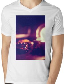 are they small or is the desk really humungous Mens V-Neck T-Shirt