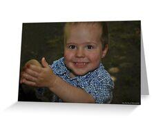 """ Little Boys "" Greeting Card"