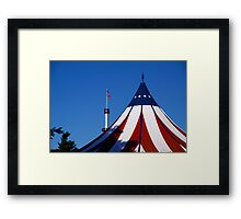Red, White and Blue-Hershey Park, PA Framed Print