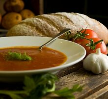 Tomato & Fennel Soup by Cindy Lever
