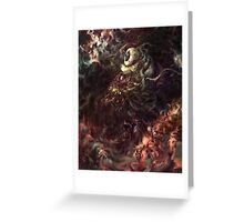 Star Eater Greeting Card