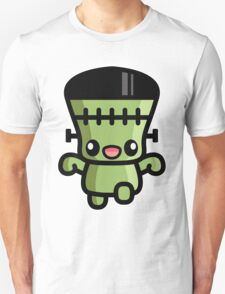 Cute Cartoon Halloween Frankenstein T-Shirt
