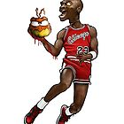 Michael Jordan  by ScribblePuff