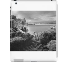 Trefalen Cave - Infra Red. Pembrokeshire Coast iPad Case/Skin