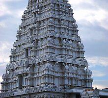 Hindu Temple by Alycia Messenger