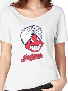 Indians Women's Relaxed Fit T-Shirt