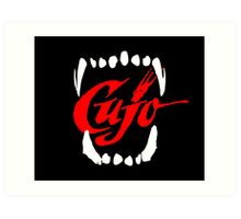 CUJO [teeth] Art Print