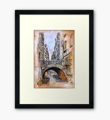 Venice 2 Framed Print