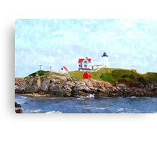 Nubble Light Canvas Print