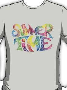 Swirly Summer Time T-Shirt