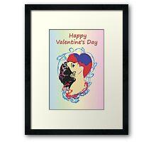 Happy Valentine's Day 1 Framed Print