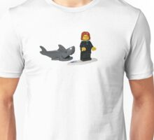 LEGO Surfer and Shark Unisex T-Shirt