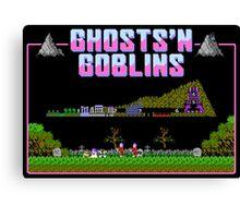 Ghosts n Goblins  Canvas Print