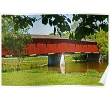 West Montrose Covered Bridge Poster