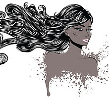 Woman with Long Hair4 by AnnArtshock