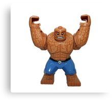 LEGO The Thing Canvas Print