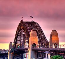 Sydney Harbour Sunset by Scott Lund