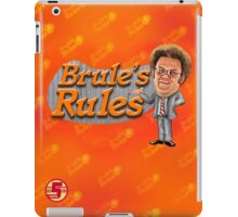Brule's Rules - For Your Health iPad Case/Skin