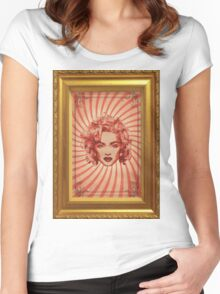 Madonna Women's Fitted Scoop T-Shirt