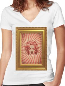 Madonna Women's Fitted V-Neck T-Shirt