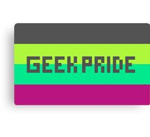 Geek Pride Flag Canvas Print