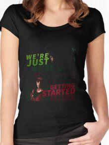 Green Arrow Women's Fitted Scoop T-Shirt