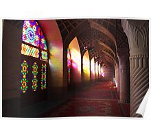 Pink Mosque, Shiraz Poster