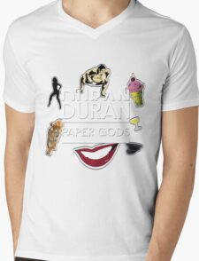 Duran Duran Mens V-Neck T-Shirt