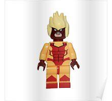 LEGO Pyro Poster