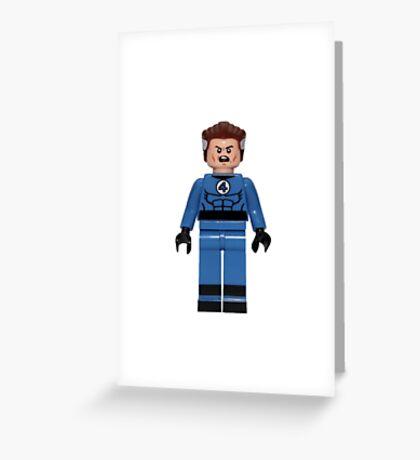 LEGO Mister Fantastic Greeting Card