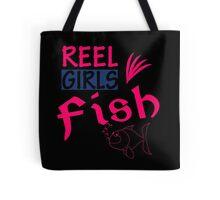 REAL GIRLS FISH Tote Bag