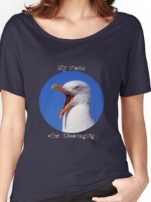 Encouraging Words Seagull Women's Relaxed Fit T-Shirt