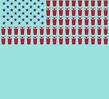 American Flag by birthdaytees