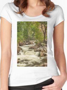 Rocky Mountain Streamin Dreamin Women's Fitted Scoop T-Shirt