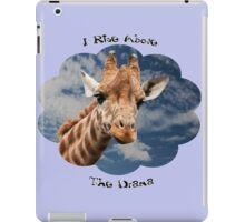 I Rise Above the Drama iPad Case/Skin