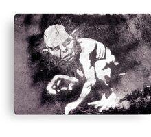 A gremlin called Gollum Canvas Print