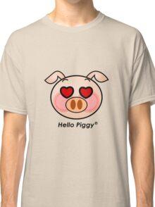 Hello Piggy heart eyes t-shirt Classic T-Shirt