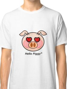 Hello Piggy heart eyes t-shirt Classic T-Shirt