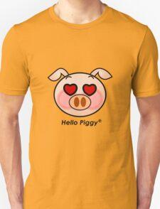 Hello Piggy heart eyes t-shirt T-Shirt