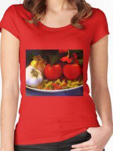 Still Life Italia Women's Fitted Scoop T-Shirt