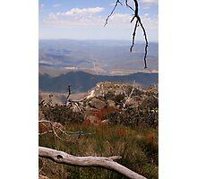 Mount Buffalo View Photographic Print
